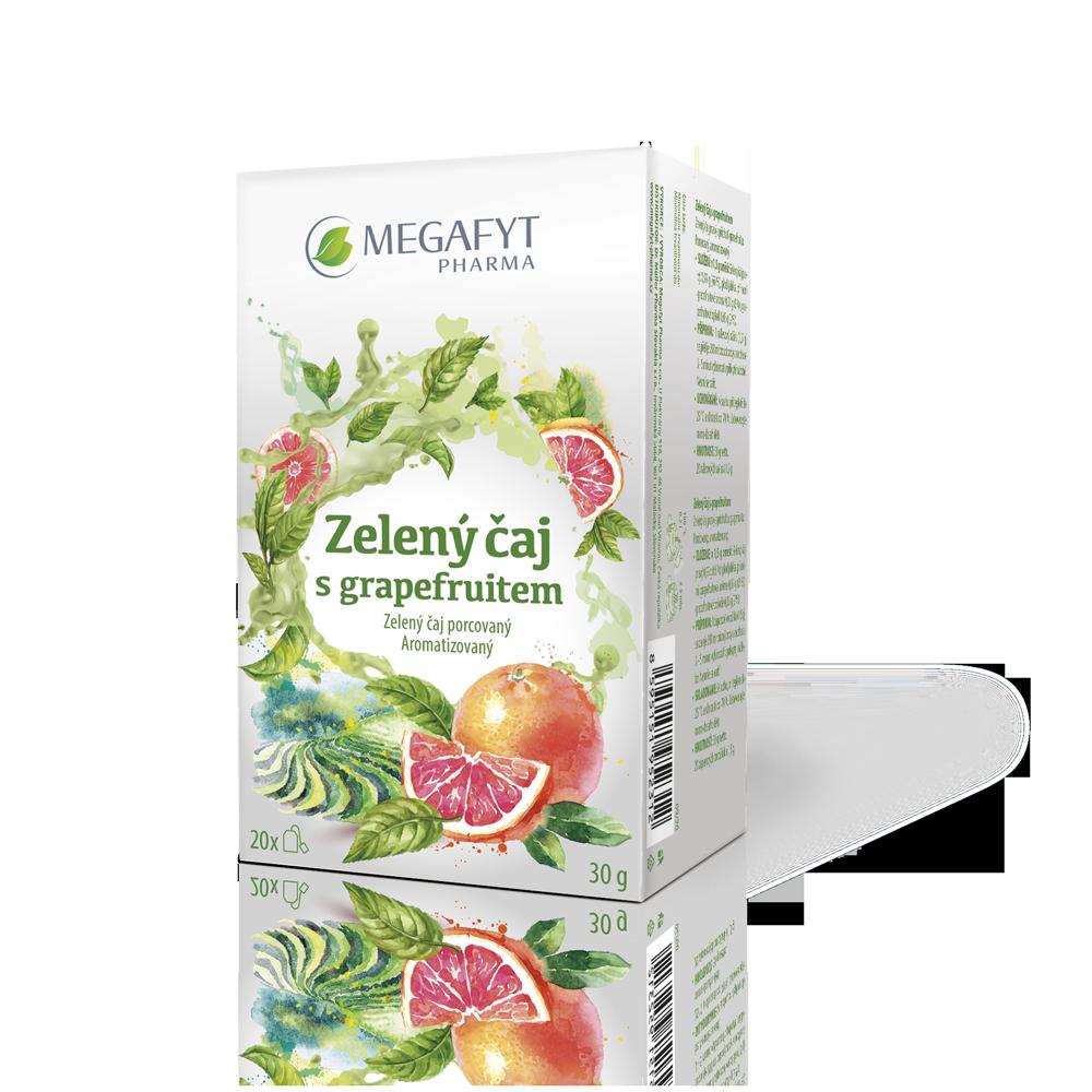 Více informací o výrobku Zelený čaj s grapefruitem