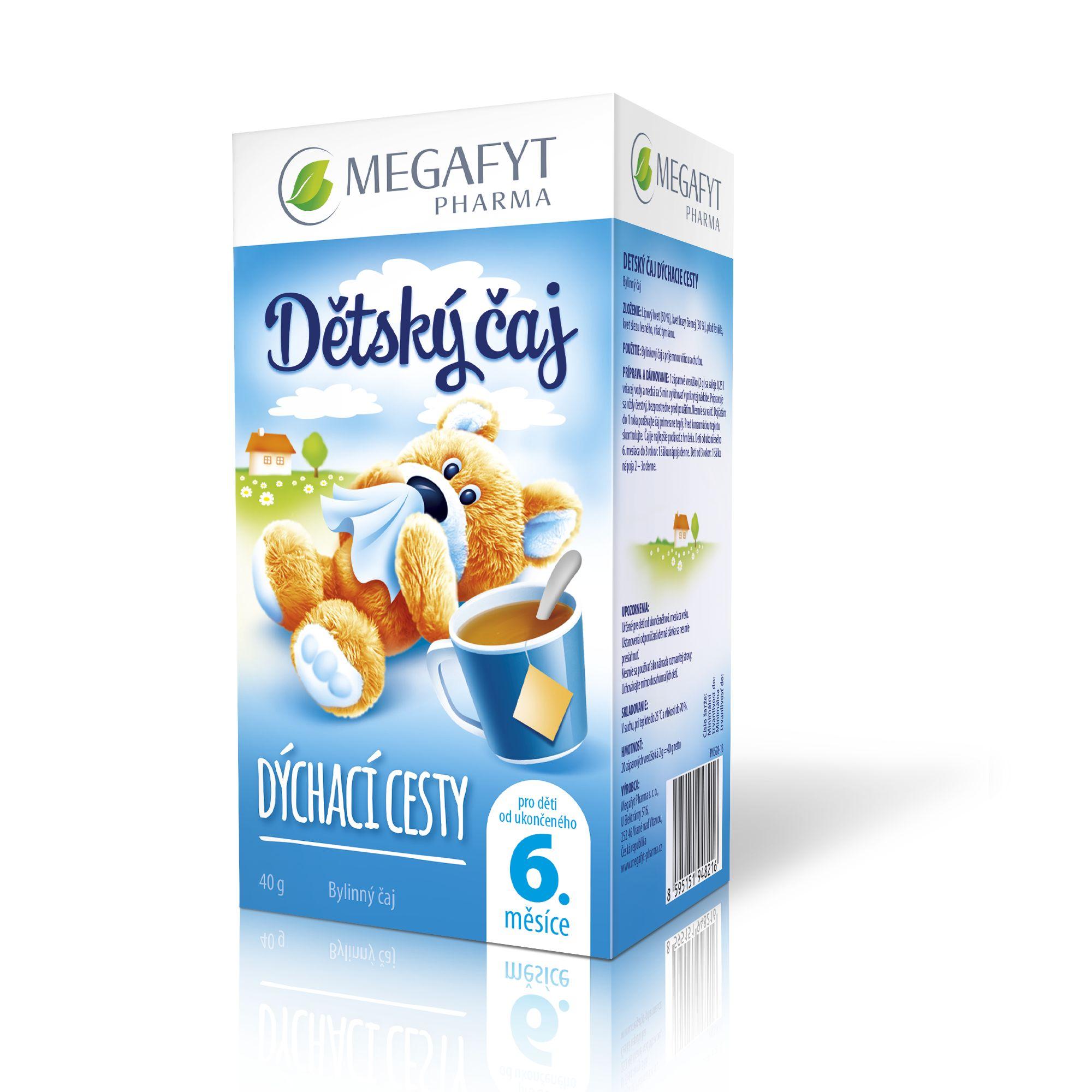Více informací o výrobku Dětský čaj dýchací cesty