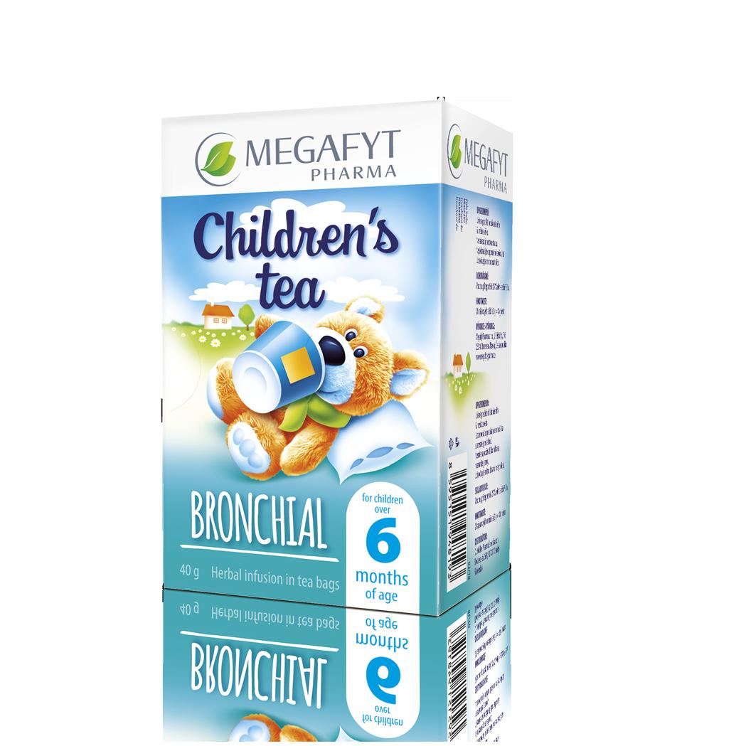 Více informací o výrobku Children's tea bronchial