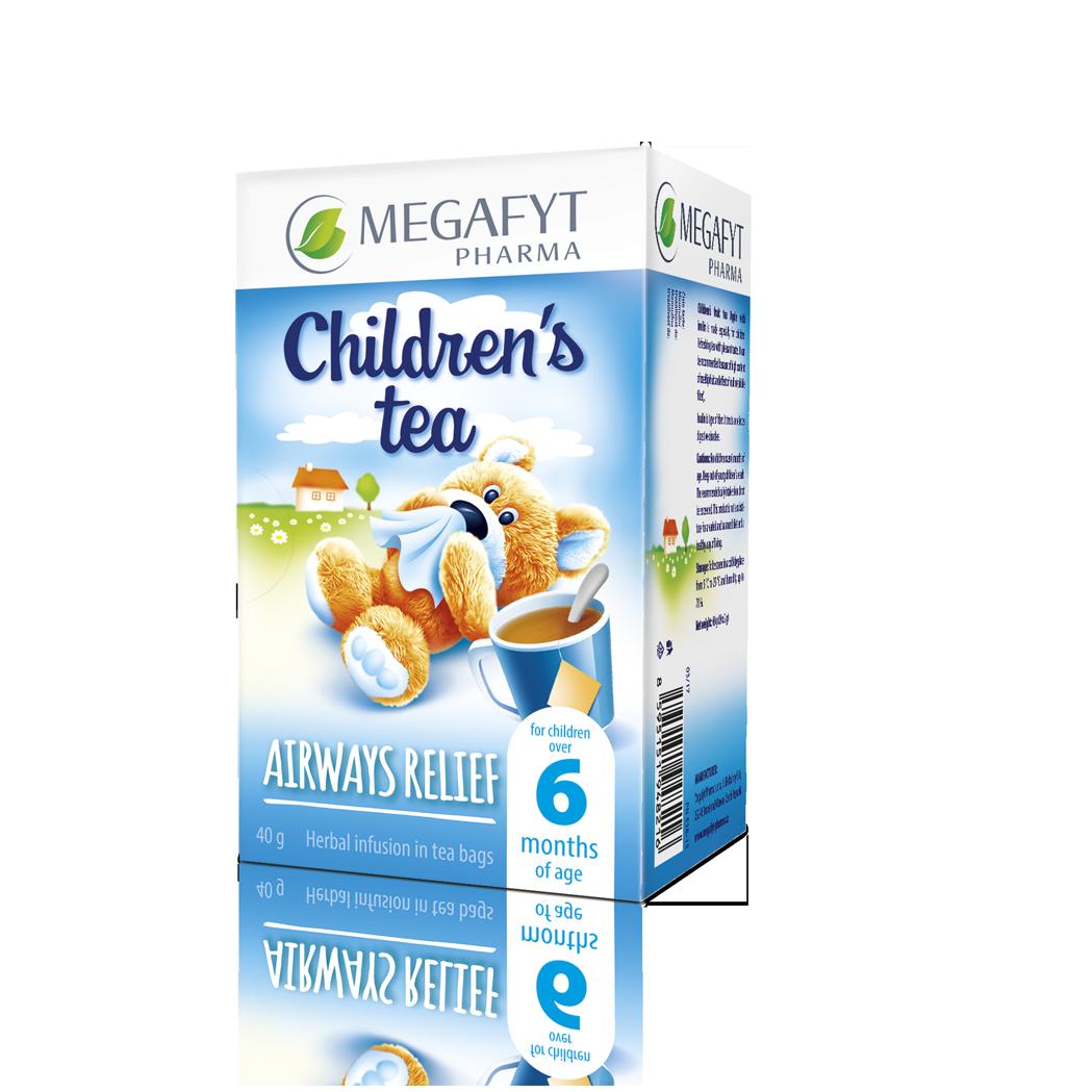 Více informací o výrobku Children's tea airways relief