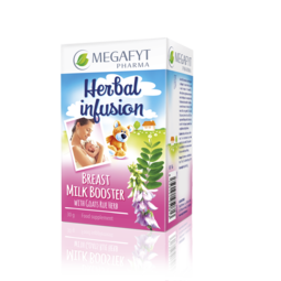 Breast milk booster with goats rue herb