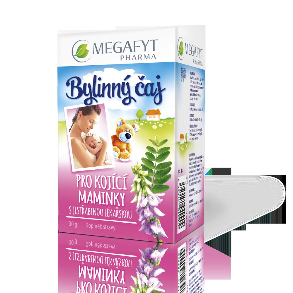 Více informací o výrobku Bylinný čaj pro kojící maminky s jestřabinou