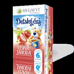Detský čaj lesná jahoda