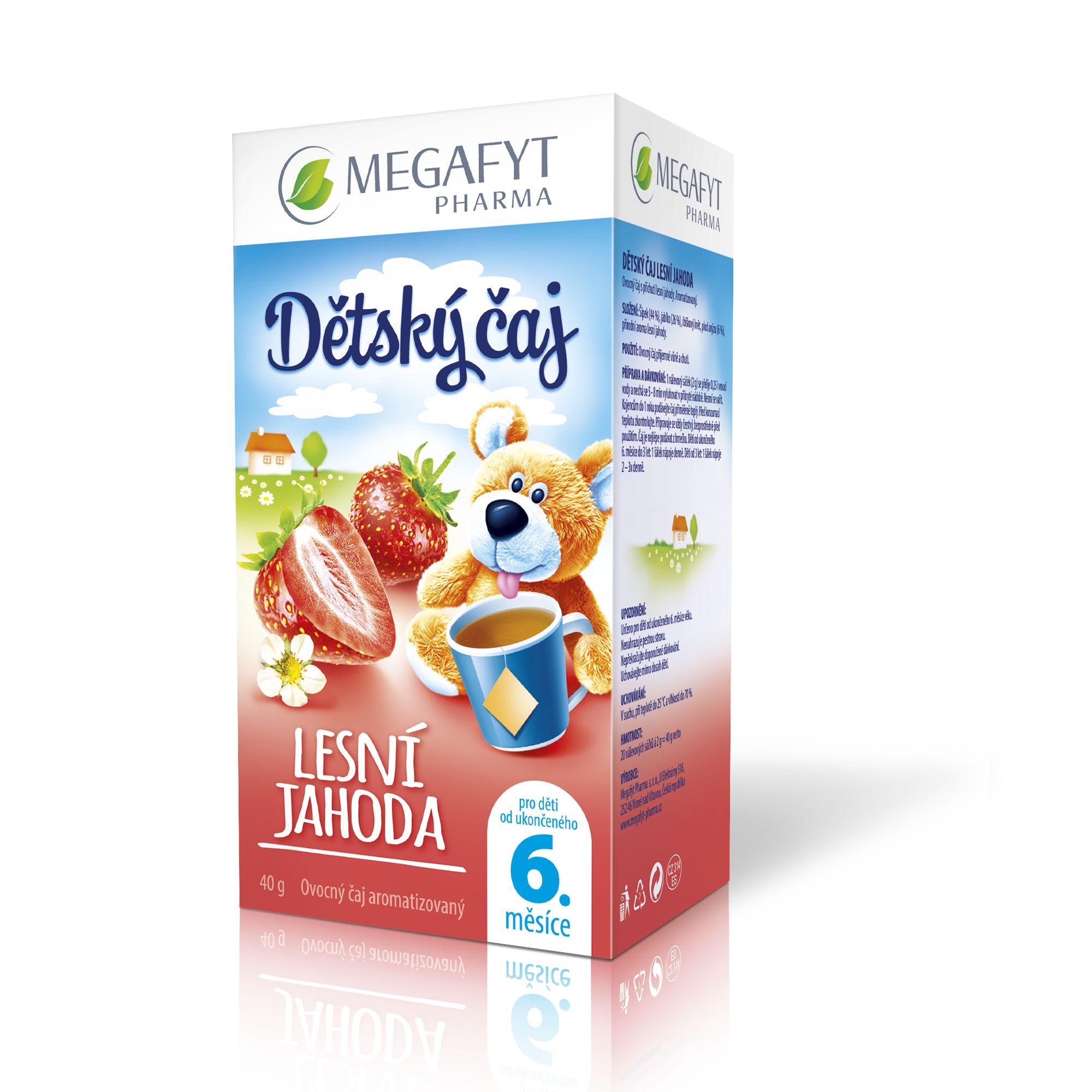 Více informací o výrobku Detský čaj lesná jahoda