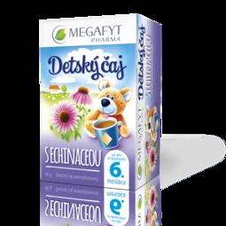 Detský čaj s echinaceou