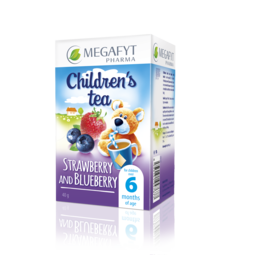 Children's tea Strawberry and Blueberry