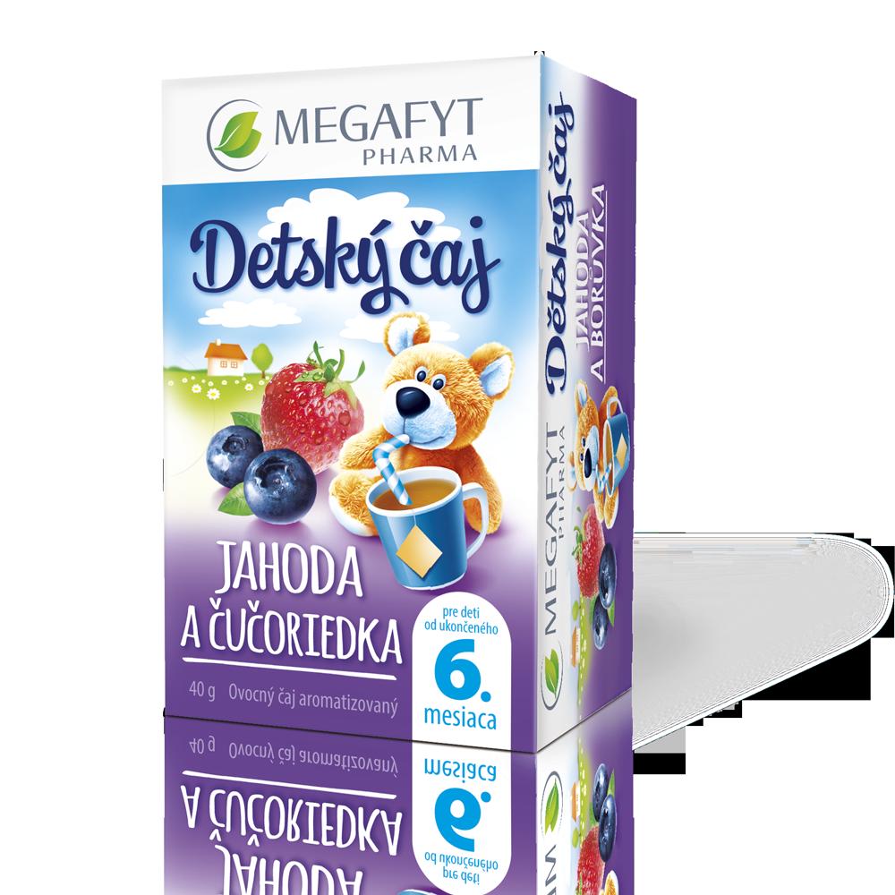 Detail výrobku Detský čaj jahoda a čučoriedka