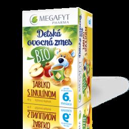BIO ovocný čaj s príchuťou jablka a inulínu