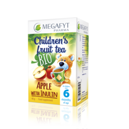 Children´s fruit tea with apple and inulin (organic)