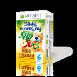 Dětský ovocný čaj BIO Jablko s inulínem