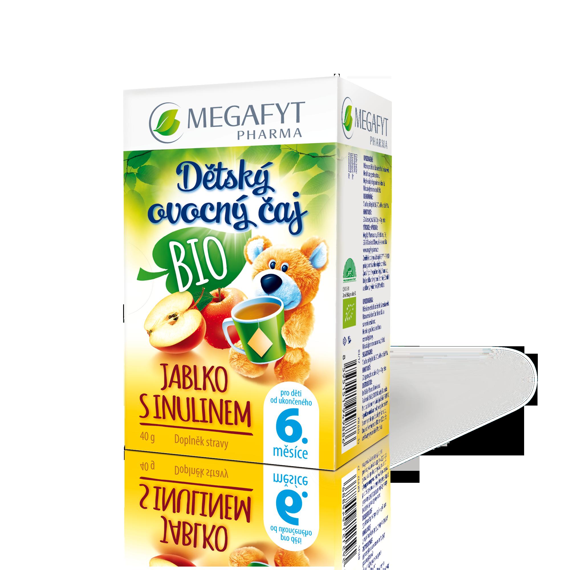 Více informací o výrobku Dětský ovocný čaj BIO Jablko s inulínem