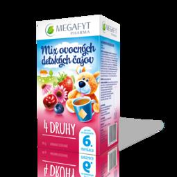 Mix ovocných detských čajov