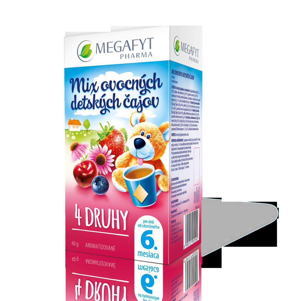 Detail výrobku Mix ovocných detských čajov