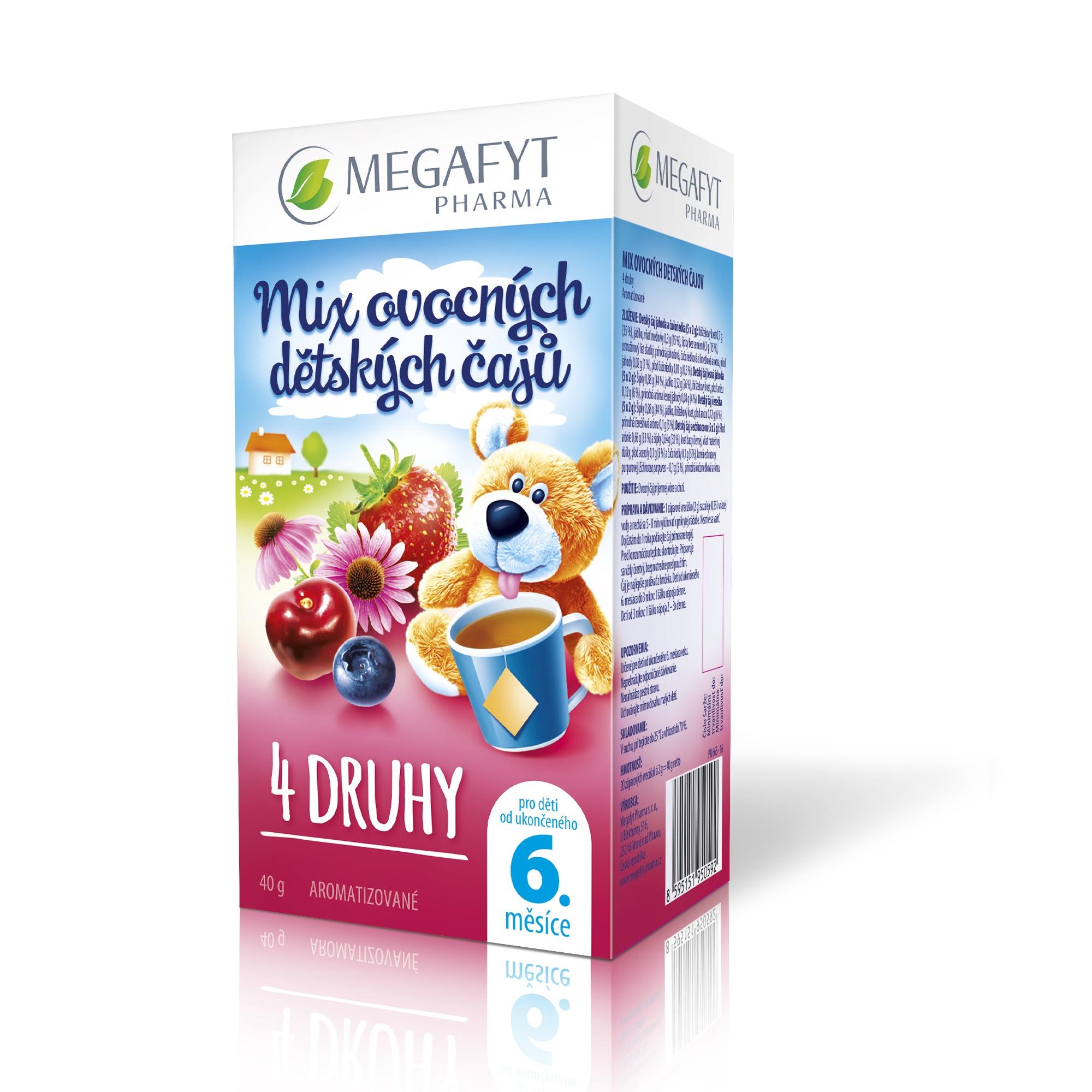 Více informací o výrobku Mix ovocných dětských čajů