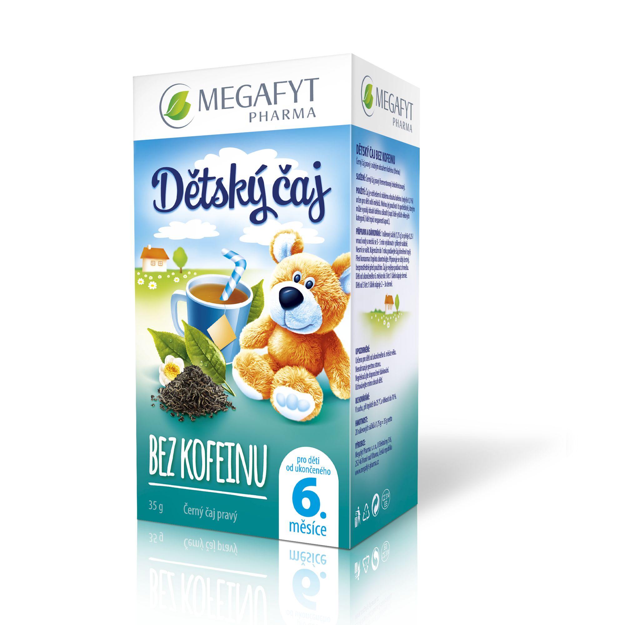 Více informací o výrobku Dětský čaj bez kofeinu