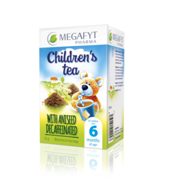 Children's black tea with aniseed decaffeinated
