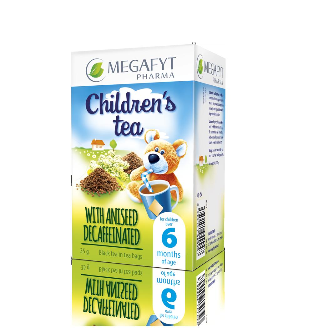 Více informací o výrobku Children's black tea with aniseed decaffeinated