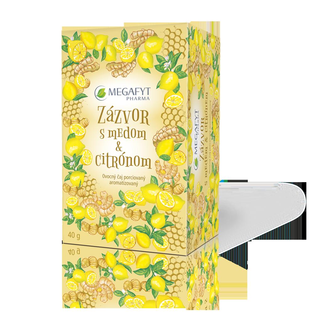 Detail výrobku Zázvor s medom & citrónom