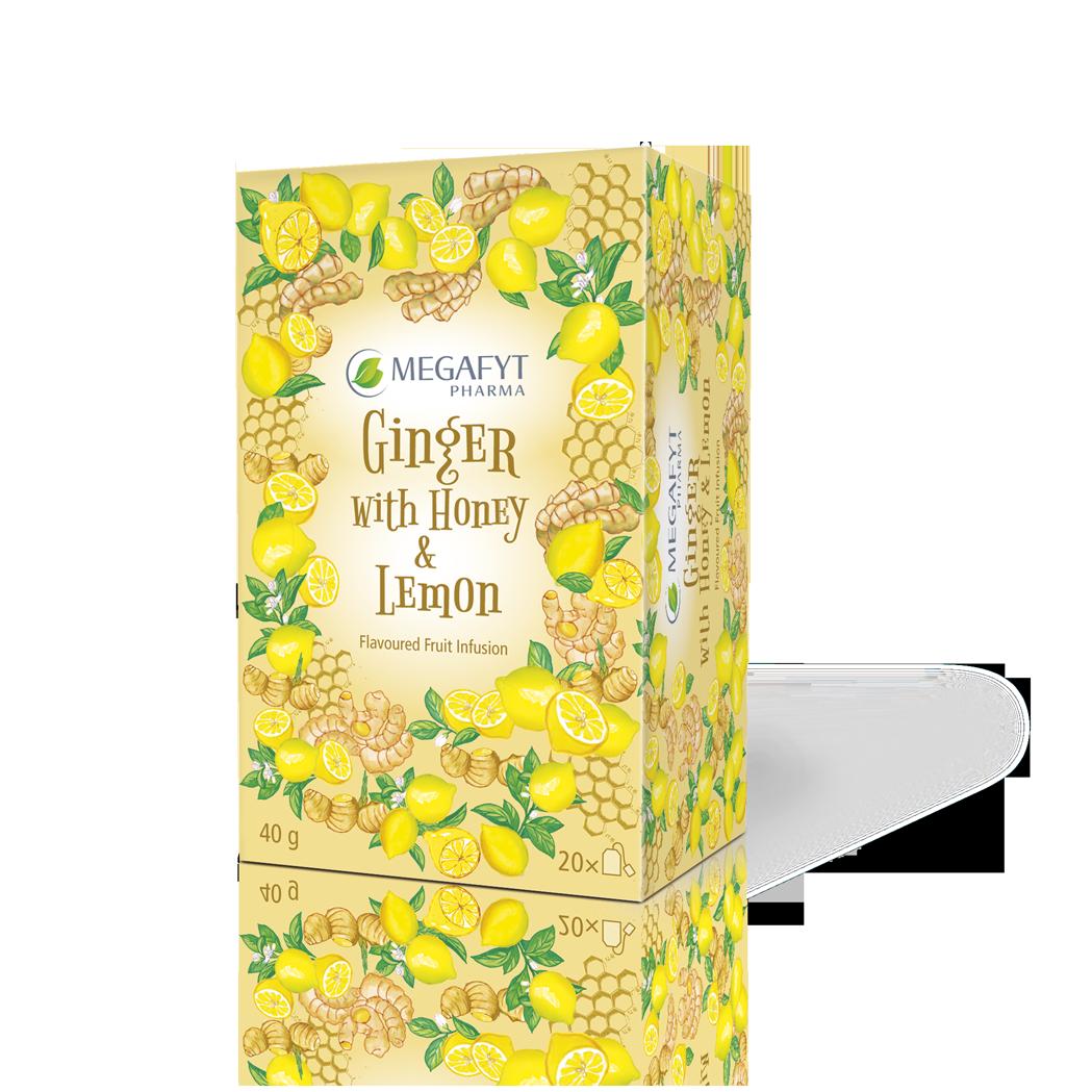 Více informací o výrobku Ginger with Honey & Lemon