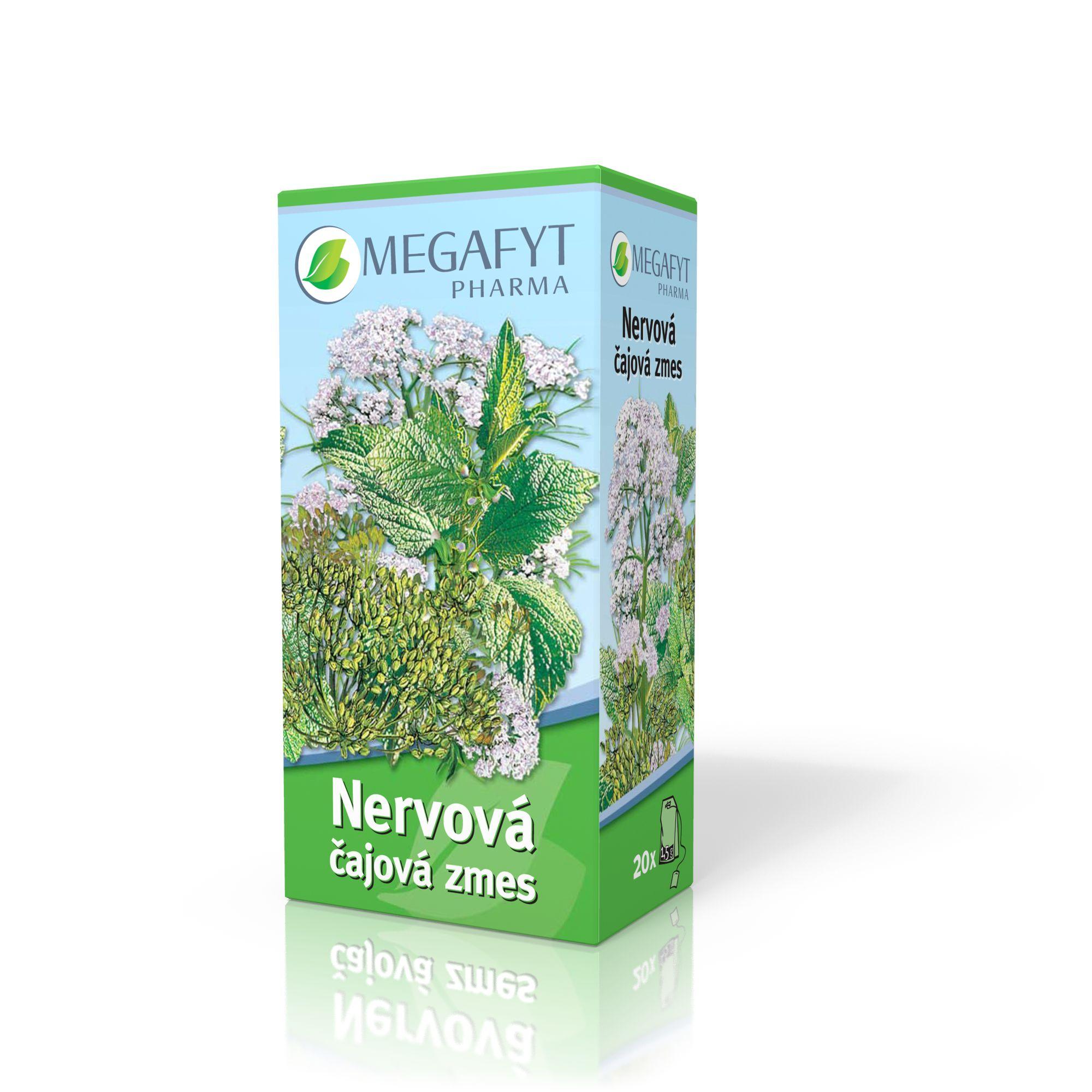 Více informací o výrobku Nervová čajová zmes