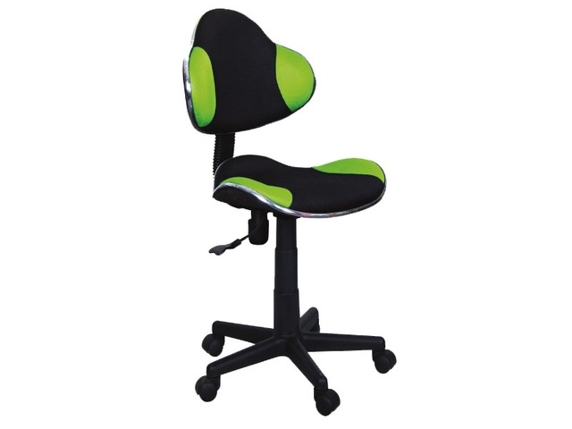 Dětská židle Q-G2 zelená/černá