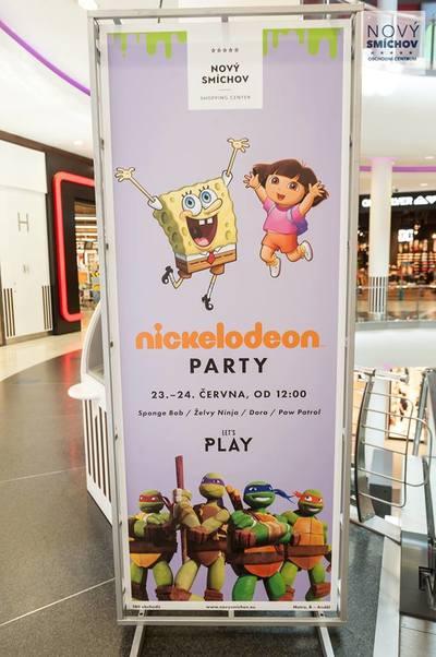 NICKELODEON PARTY na Novém Smíchově!