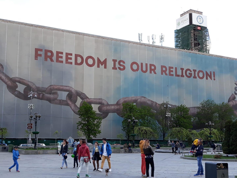 Svoboda je naše víra