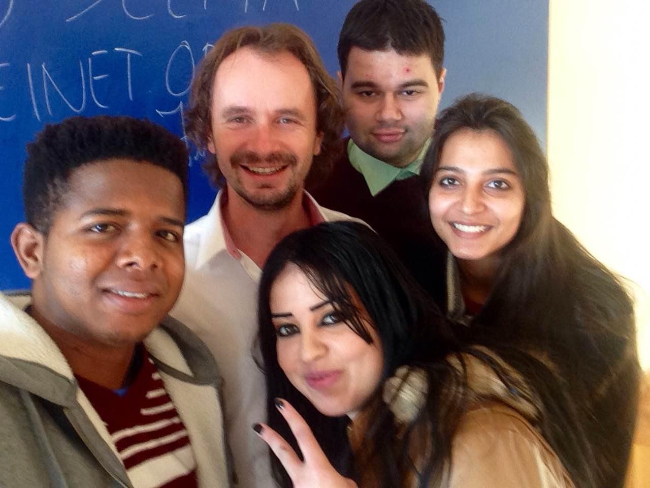 S mými studenty
