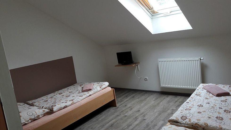 & Twin room in attic